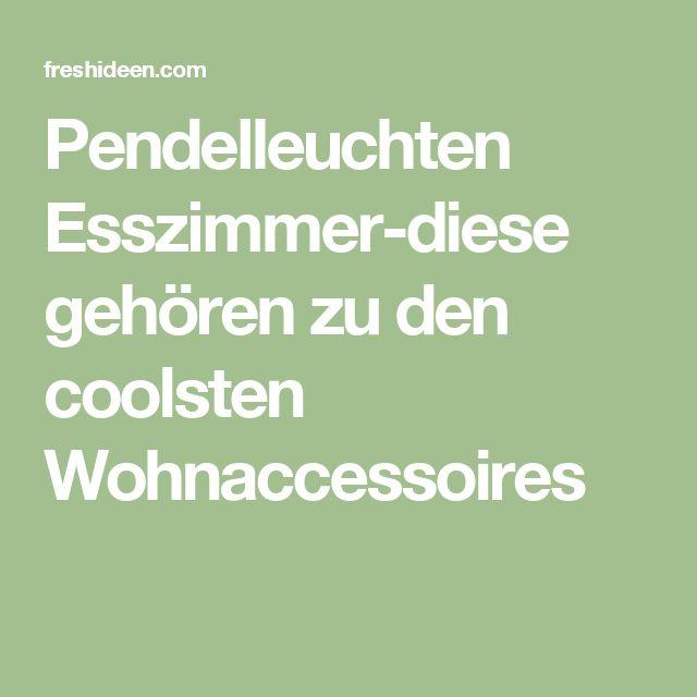 17 migliori idee su Pendelleuchten Esszimmer su Pinterest ...