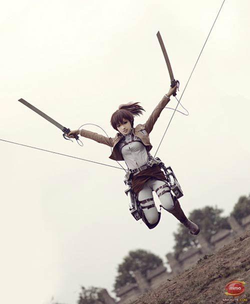 Attack on Titan Cosplay: Sasha Braus--BUT HOW