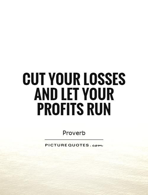 Let your profits run forex