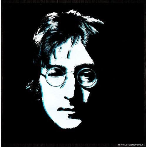 "Poster John Lennon Постер на холсте ""Кумиры. Джон Леннон (The Beatles)"""