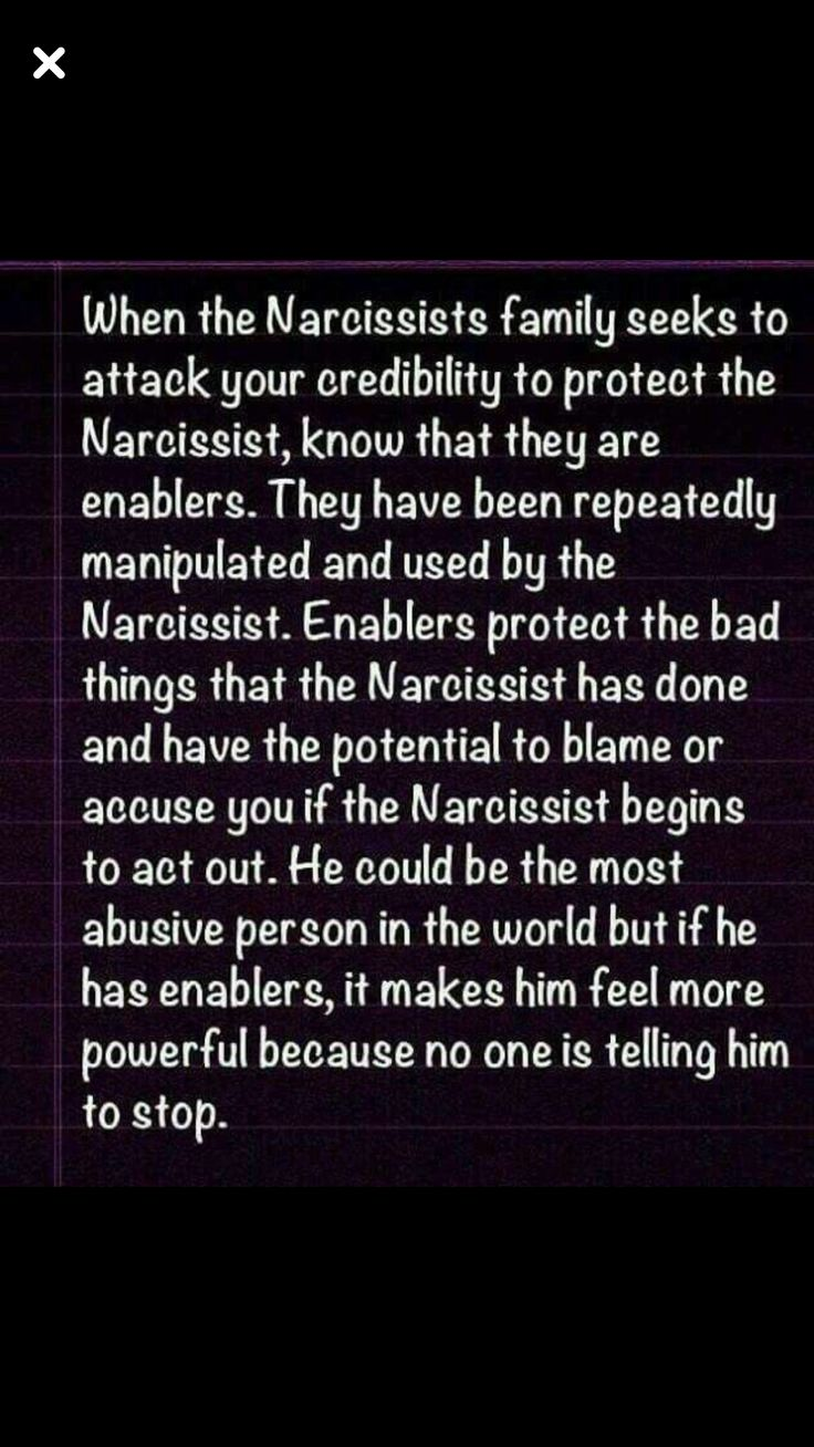 Narcissists are not always male!!!