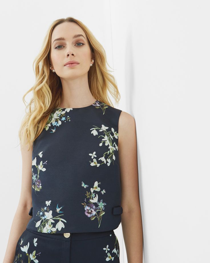 Entangled Enchantment cropped top - Ted Baker