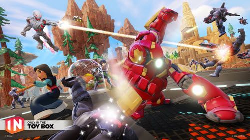 """Teen Game Review: """"Disney Infinity 3.0″ Characters Spot, Hulkbuster, Ultron And Darth Maul PS4 - Dis411"""