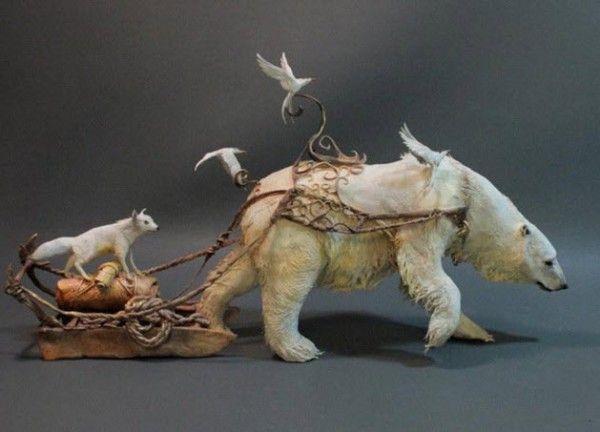 Surrealistic sculptures Ellen Jewett