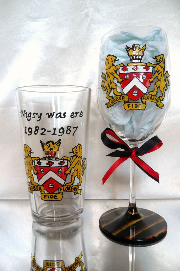 Personalised Hand Painted Glassware https://www.facebook.com/AngiesGlassworks?fref=ts
