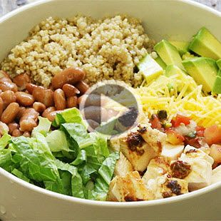 Unwrap traditional burritos into these healthy burrito bowls. Smoky chipotle peppers take this easy recipe to next-level deliciousness for a fun dinner party or quick weeknight meal.