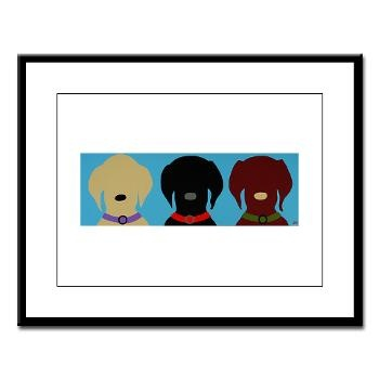 Large Framed Print -- Trio Mainely Lab Studios