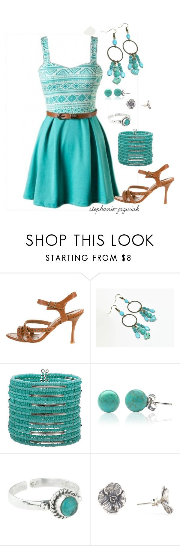 """""""Kenna's Outfit for Audrianna's Baby Shower"""" by stephanie-jozwiak ❤ liked on Polyvore featuring Manolo Blahnik, Mixit, Bling Jewelry and Rock 'N Rose"""