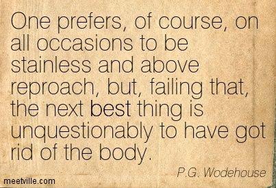 p.g. wodehouse essay