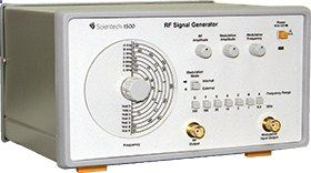 Scientech 1500 RF Signal Generator delivers a highly flexible and powerful solution for consumer electronics, communication, production, service station, and many other fields. With its wide frequency range, built in audio frequency generator and facility to Amplitude Modulation internally as well as externally, makes it an essential tool in every laboratory.