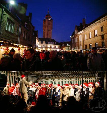 Kerstmarkt - Bergues - #ShoppingFR