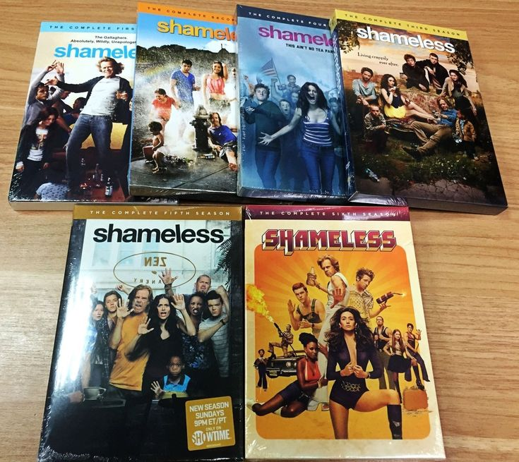 Brand New Shameless Season 1-6 Complete Series Seasons 1 2 3 4 5 6  DvD Dvds