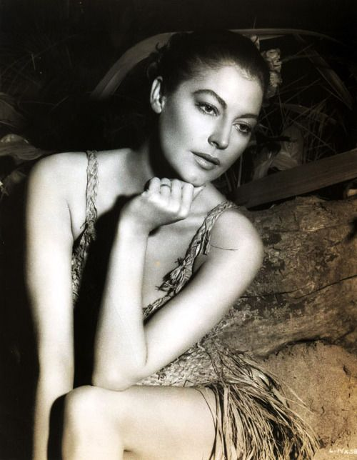 Ridiculously beautiful theniftyfifties: Ava Gardner                                                                                                                                                      Plus