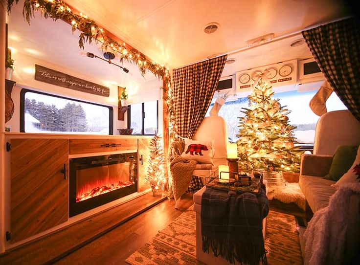 A Beloved RV Gets a Happy Holiday Makeover — Makeover