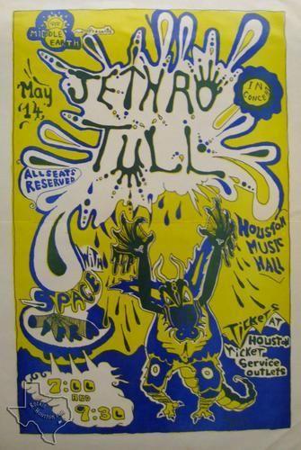 Jethro Tull, May 14, 1970, Houston Music Hall