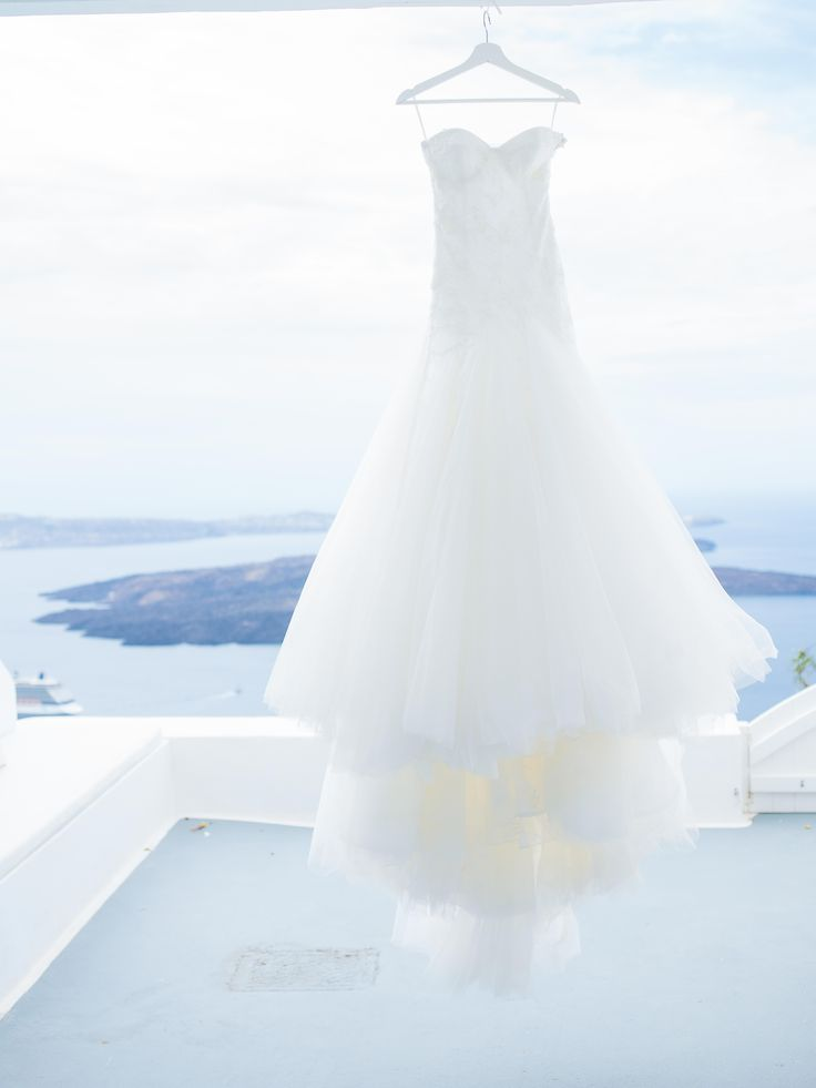 Geraldine's custom made dream gown with naked back and long train!