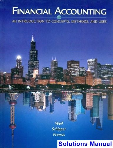 113 best solution manual download images on pinterest financial accounting an introduction to concepts methods and uses 14th edition weil solutions manual test fandeluxe Images