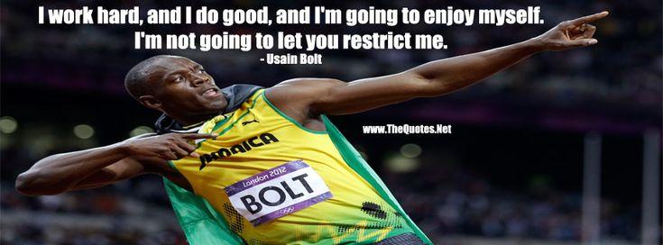 Usain Bolt Quote