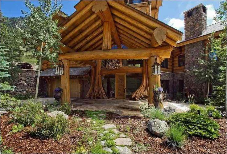 Бревенчатый дом в Колорадо