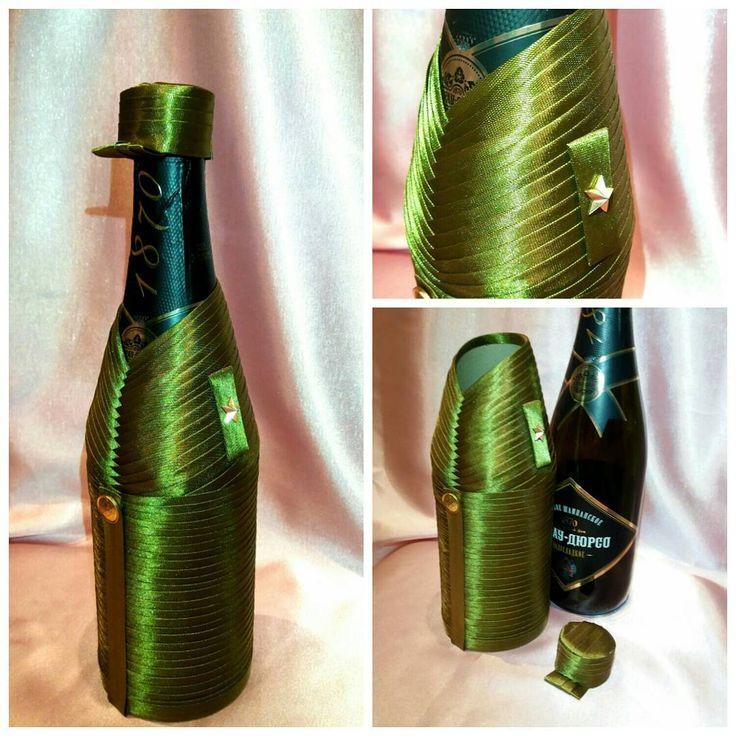 5 отметок «Нравится», 3 комментариев — декор бутылокИнтерьерные куклы (@mariazavjalova) в Instagram: «Подарок #ручная_работа#ПодаркиДляМужчин #23Февраля#съемные_костюмы»