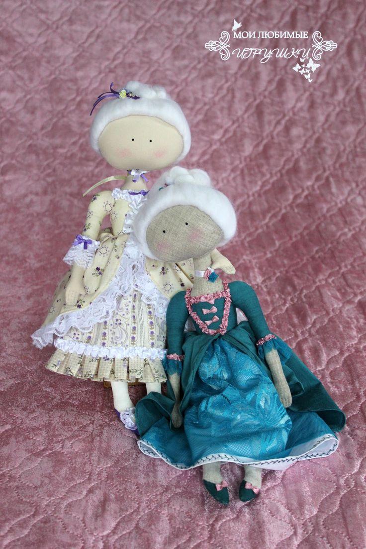 Блог Мои любимые игрушки. Анна Балябина, авторские куклы и игрушки: Мадемуазель Адель