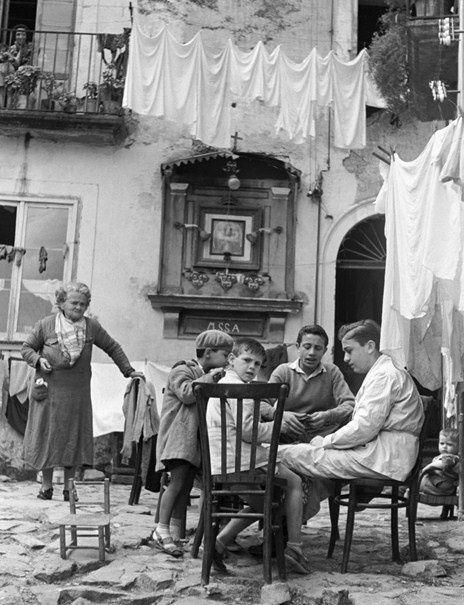 Italy. Napoli 1950