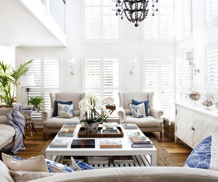 A clear vision turned a waterside home into an elegant Hamptons-style family abode – learn how this interior designer worked her magic.