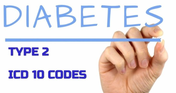 ICD 10 code for diabetes type 2 for Medical coders
