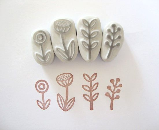 hand carved stamp tutorial - minna may design + illustration