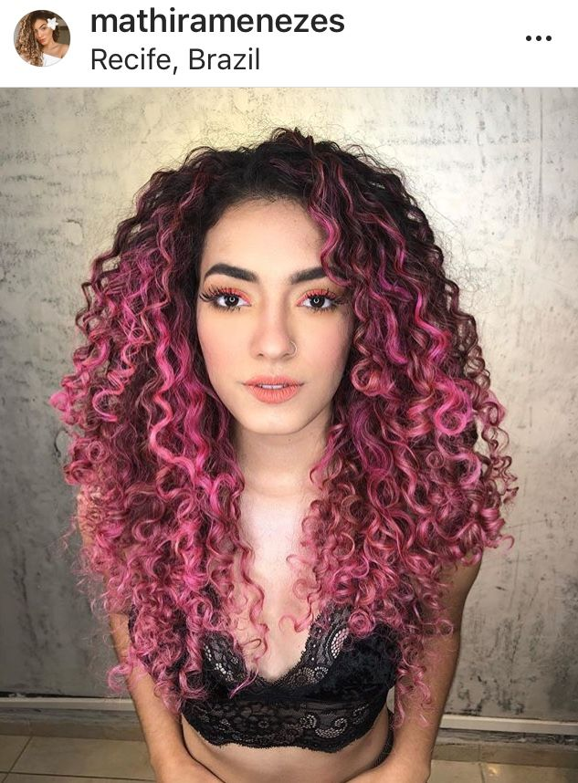 Pin By Breanna Yingst On Curliesss Curly Hair Styles Naturally Ombre Curly Hair Dyed Curly Hair