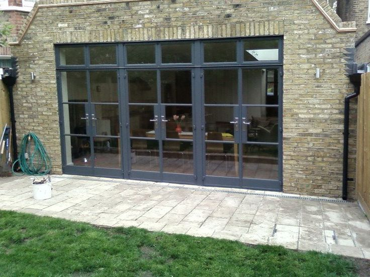 Beautiful Crittall Door to the garden