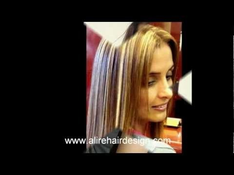 At Alire hair design, we specialize in the latest hairstyles trends in men & woman's haircuts, color and styles. Al always has passion for best hair design and also offer the latest technique in other hair services and chemical hair relaxer including: Japanese Hair Straightening, Yuko permanent smoothing systems -   Brazilian Blowout Straightening treatment -   Keratin Complex Smoothing Therapy,   also ask us about our human hair extensions in Orange County hair salon in Irvine.