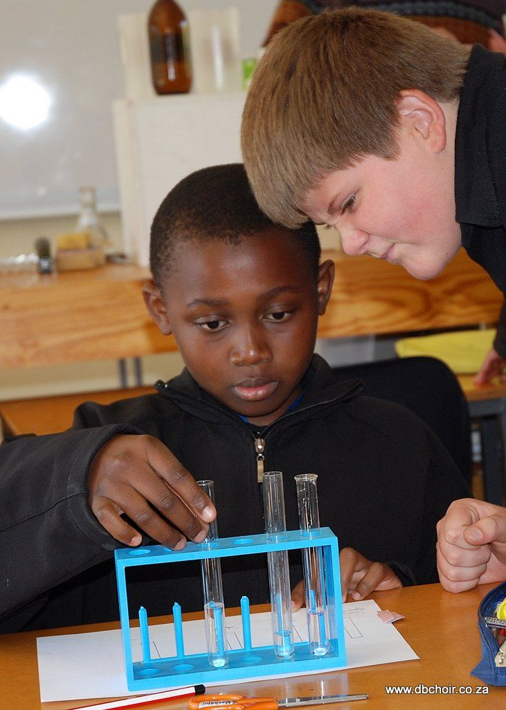 #DrakieLife - Science Class!  Although we are a Choir School, academic excellence still forms a major part of our day! We place special emphasis on Mathematics, Natural Science and Technology. The boys enjoy the opportunity to explore and discover!