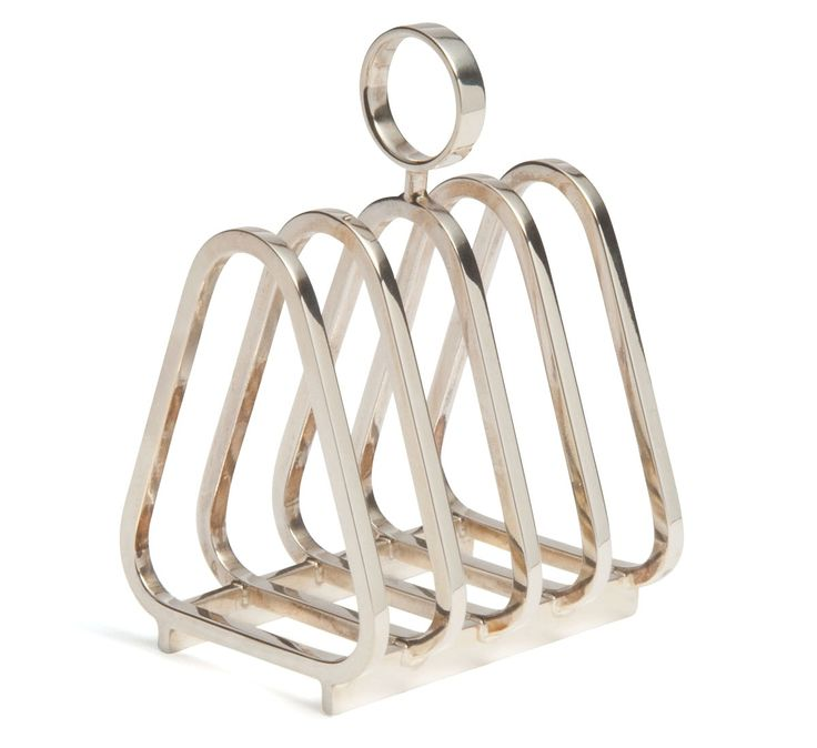 David Mellor Embassy Toast Rack, Sterling Silver
