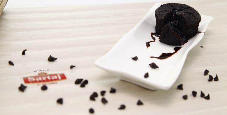 Sartaj Choco Lava Cake Share this with a friend who has an ever-lasting Sweet Tooth! www.sartajbikaneri.com