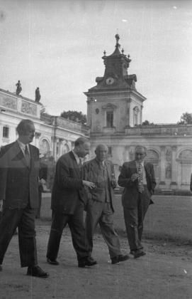 Warsaw 1948 Peace conference -Paul Eluard and Pablo Picasso