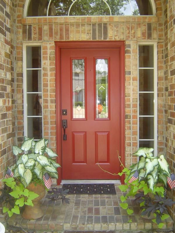 garage door color ideas for orangebrick house - Best 20 Brick House Colors ideas on Pinterest