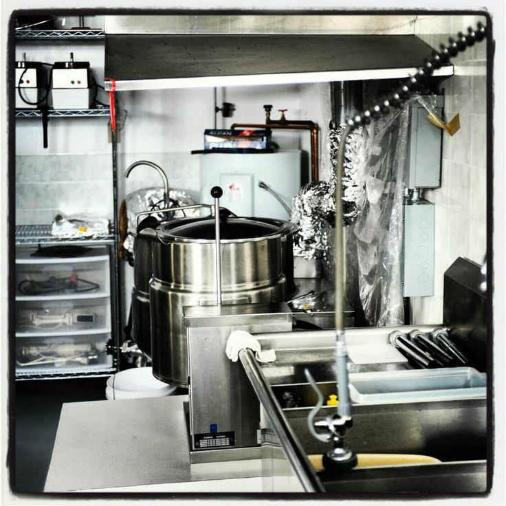 Our commercial Kitchen