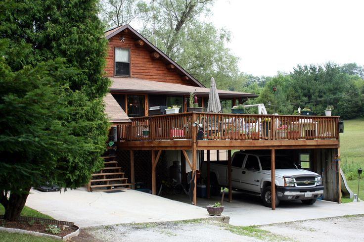 Carport Deck Designs deck/carport Ideas for the House