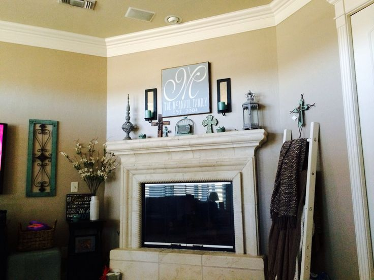 Hobby Lobby Crown Wall Decor : Fireplace sherwin williams tony taupe wall color hobby