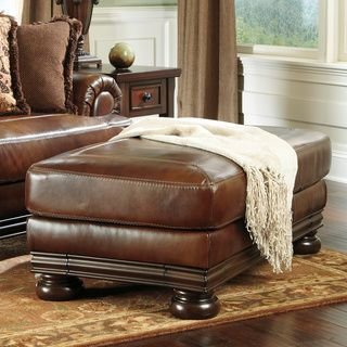 Shop for Signature Designs by Ashley 'Hutcherson' Harness Storage Ottoman. Get free shipping at Overstock.com - Your Online Furniture Outlet Store! Get 5% in rewards with Club O!