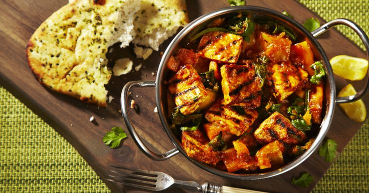 A zesty citrus marinade, Cauldron Tofu, a chargrill and a spicy hot jalfrezi – a delicious combo!