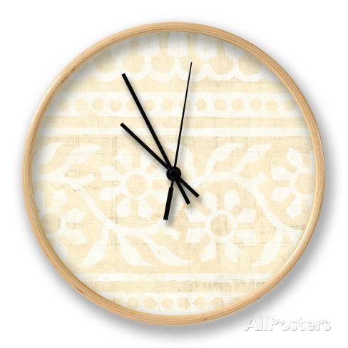 Ethnic Motif VIII Horloge par Vision Studio sur AllPosters.fr