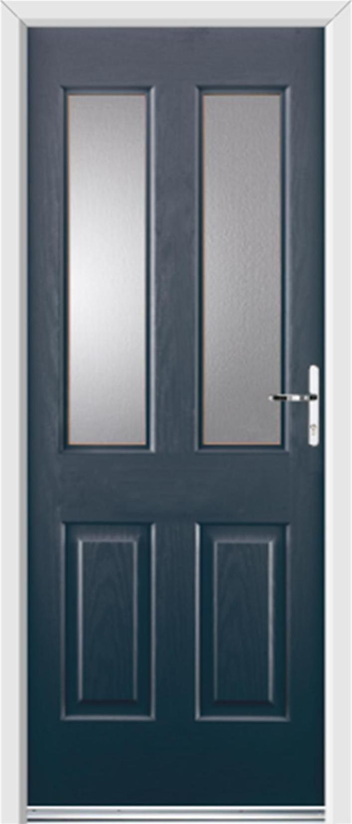 Trocal 76 entry door tiltturnwindows ca - Grey Upvc Front Doors