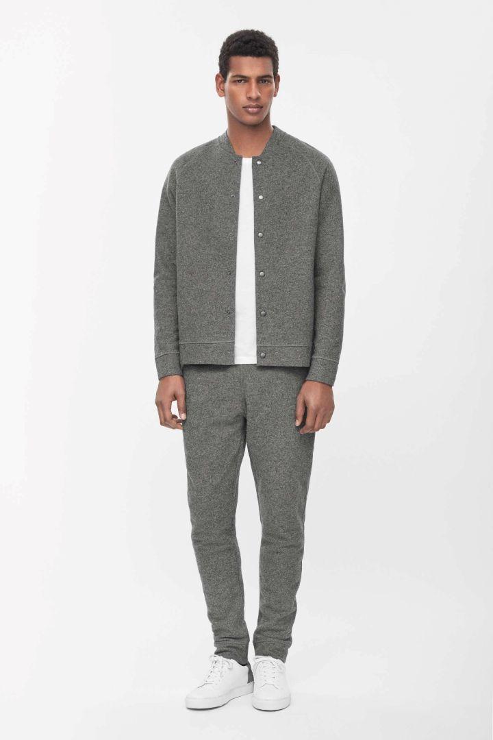 COS | Wool jersey jacket