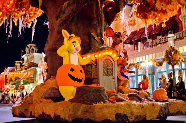 Boo To You Parade Disney Photos - Disney Tourist Blog