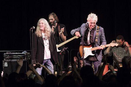 Patti Smith et John Cale en concert à la Fondation Cartier le 23 octobre 2014