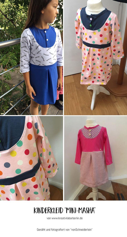 "Mini-Masha von ""vonSchneiderlein"": http://de.dawanda.com/product/106471287-schnittmuster-kleid-shirt-mini-masha-92-164"