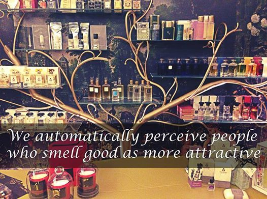 We automatically perceive people who smell good as more attractive ‪#‎rosinaperfumery‬
