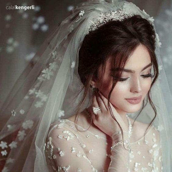 um lindo penteado para noiva.